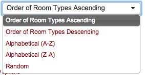 Room Order Filter